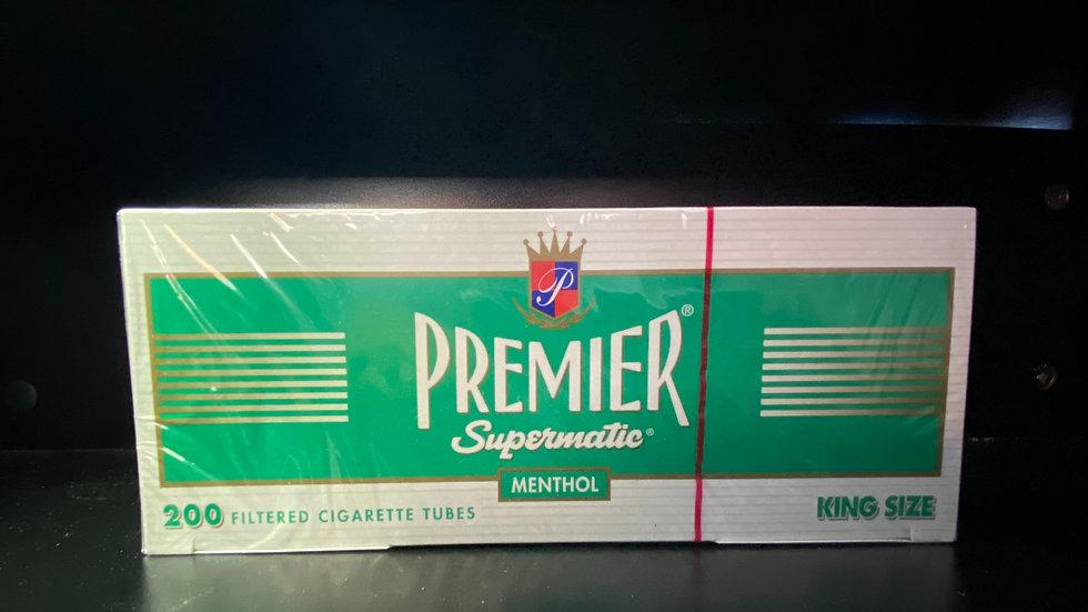 Premier Filtered Tubes Menthol King Size