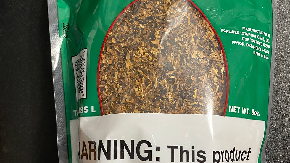 Red Buck Pipe Tobacco Menthol 8oz Bag
