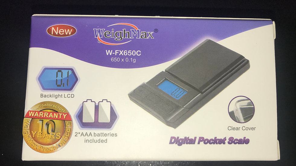 WeighMax Scale W-FX650C