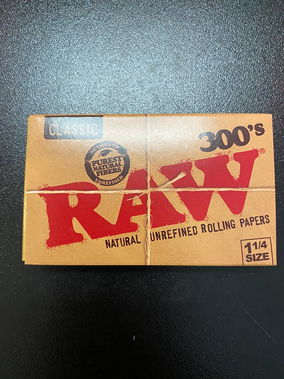 Raw Papers Classic 1-1/4 300's count
