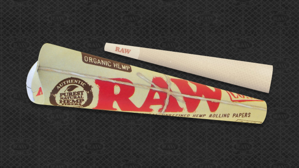 Raw Cones 1-1/4 6/pack