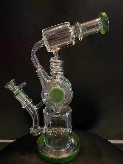 "CloudX-12"" Coli Design Water Pipe-Green"