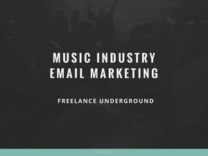 freelance underground deaf child music industry email marketing