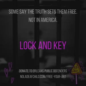 Free Your Art, Lock and Key, Deaf Child Blog