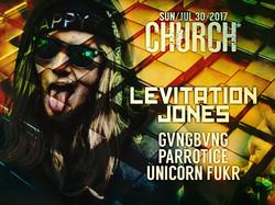 Levitation Jones Church Nola 2017