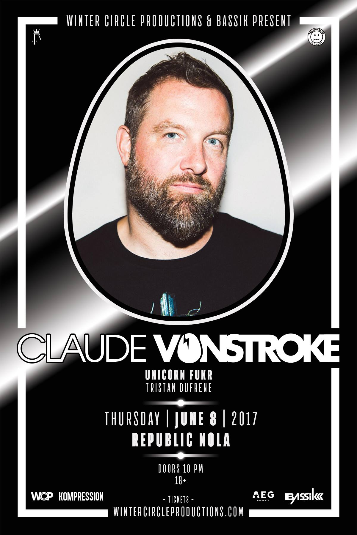 Claude Vonstroke Kompression Nola 2017