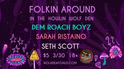 Folkin Around Howlin Wolf Den 2018