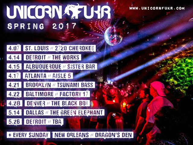 Unicorn Fukr Get Weird Nola 2017