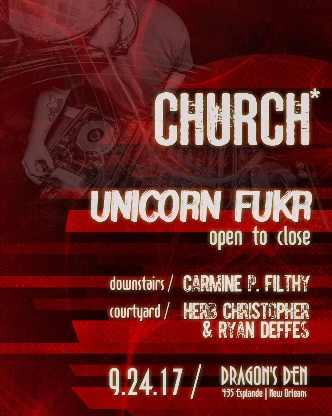 Bass Church Nola Unicorn Fukr 2017