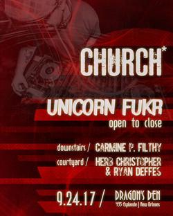Bass Church Nola Unicorn Fukr 2017