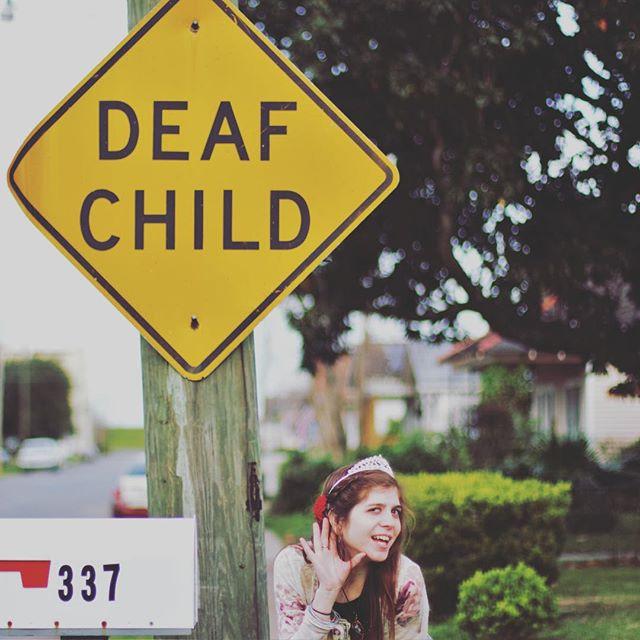 Deaf Awareness Month, New Orleans Deaf Child Vlog