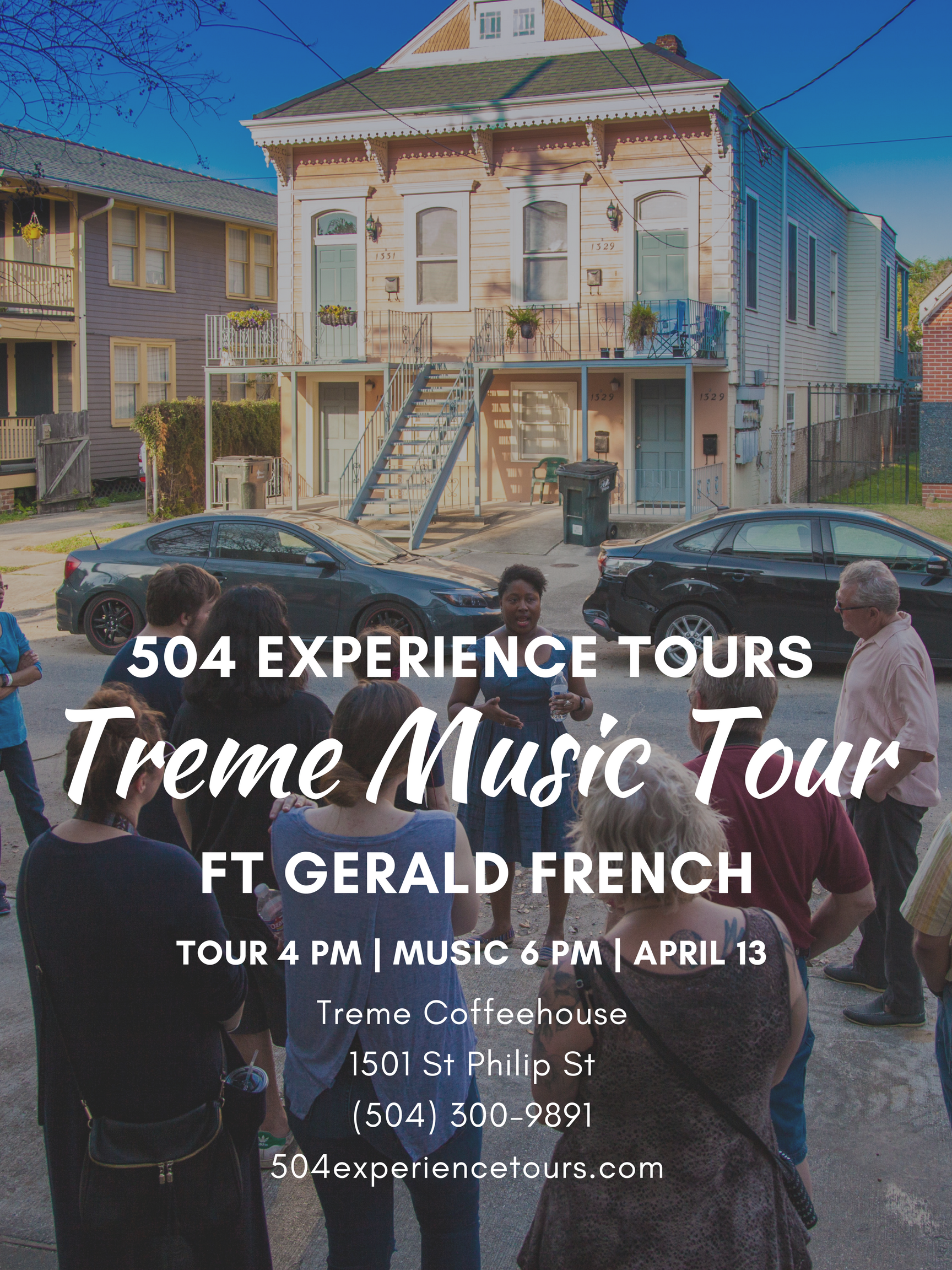 504 Experience Tours Gerald French 2017
