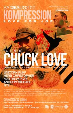 Kompression Chuck Love New Orleans 2017
