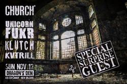 CHURCH* KLUTCH KVTRILL GRIZ BOOGIE-T 2017