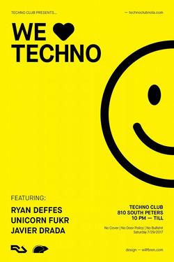 Techno Club Nola Unicorn Fukr 2017