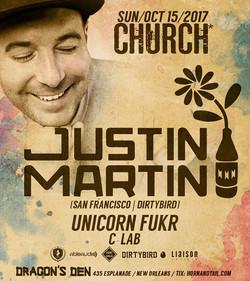 Justin Martin Bass Church Nola 2017
