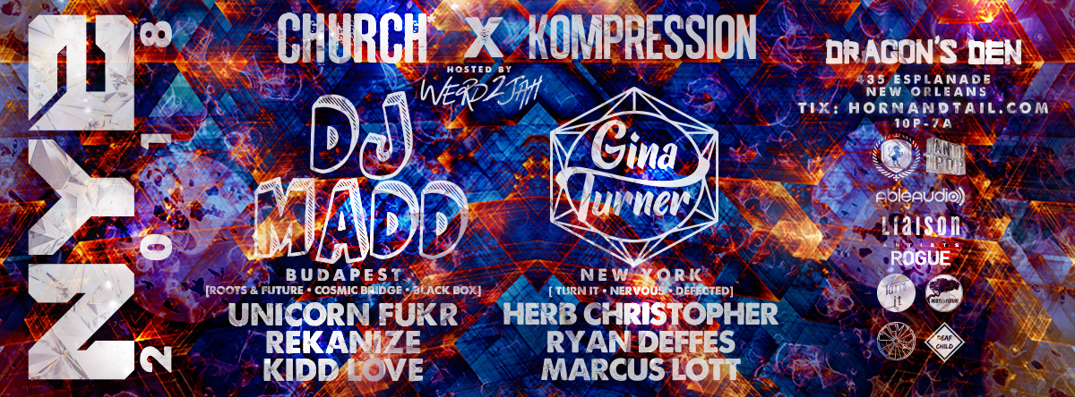 CHURCH* x KOMPRESSION NYE 2018