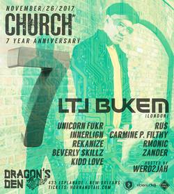 LTJ Bukem Church* Nola 7 Years 2017