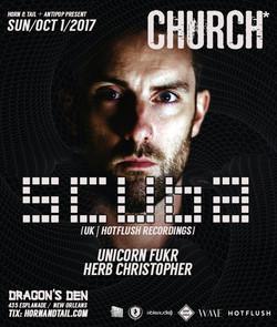 Scuba Bass Church Nola 2017