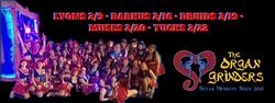 Organ Grinders Mardi Gras 2020