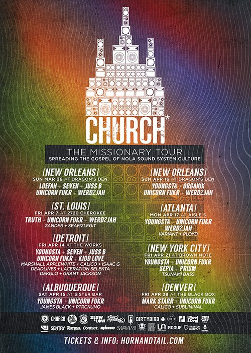 Church New Orleans Missionary Tour 2017