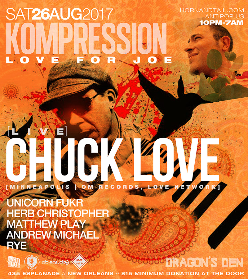 Kompression Chuck Love New Orleans 2017
