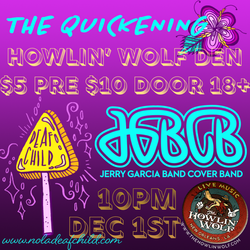 JGBCB + The Quickening 2018 Graphic by Lea Leone