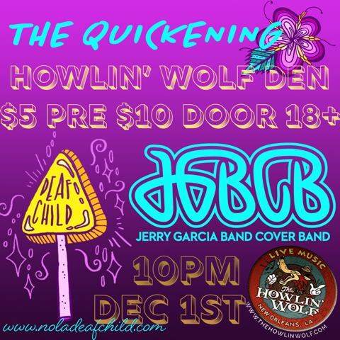 How Artists Influence Communities, The Quickening, JGBCB, Maya Jevans Illustrations, Lea Leone Graphic, Deaf Child Music Industry Blog, New Orleans Street Team