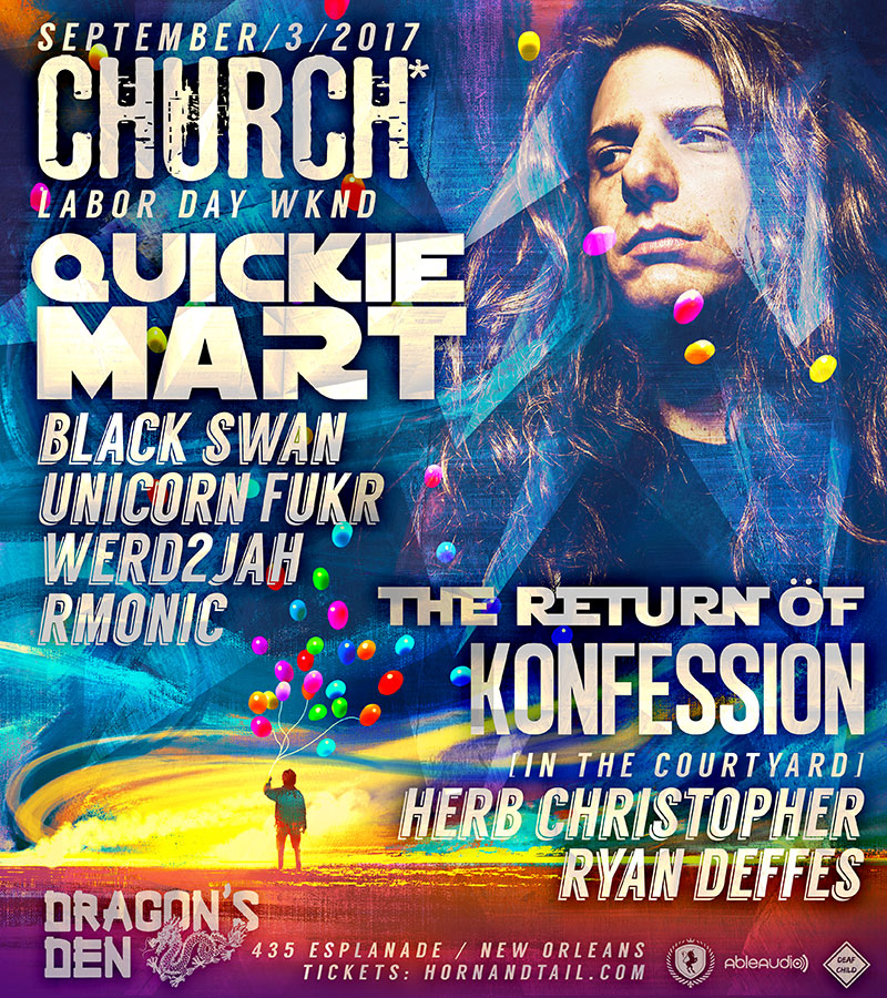 Konfession Church* Quickie Mart 2017