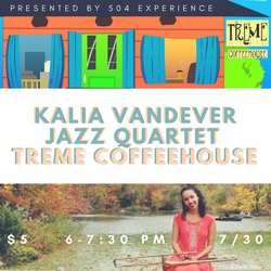 Kalia Vandever Treme Coffeehouse 2017