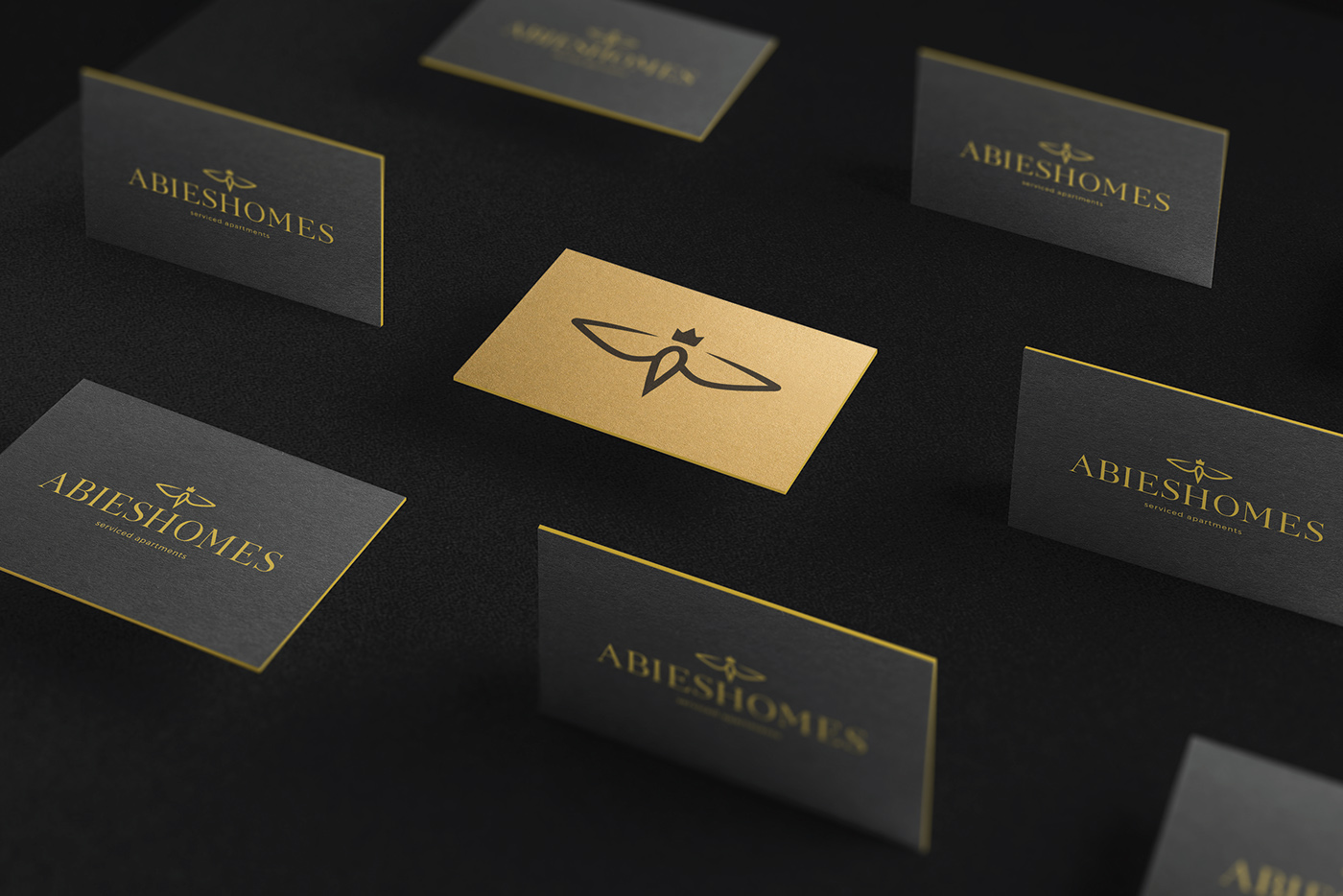 Abieshomes Visitenkarten