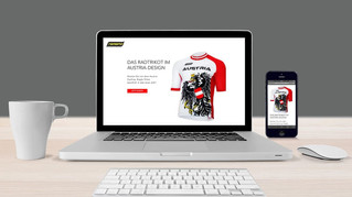 Cycling Eagle Landing Page