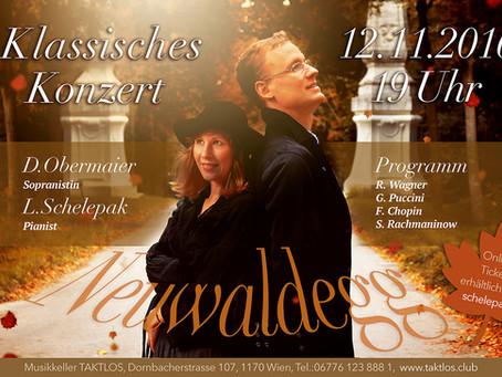 Konzert Neuwaldegg - 12.11.2016 um 19 Uhr - Musikkeller TAKTLOS