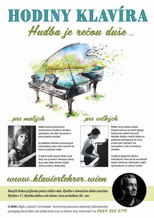 Poster - Klavierlehrer