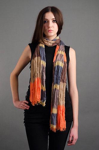 Boho styled scarf