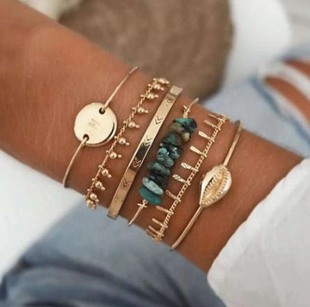Minimalist bracelet set