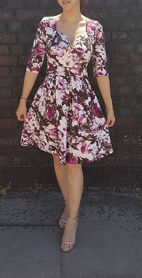 Gorgeous floral skater dress