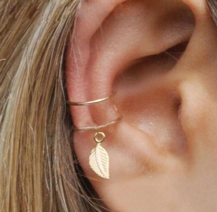 5 piece minimalist ear cuff set