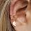 Thumbnail: 5 piece minimalist ear cuff set
