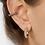 Thumbnail: Mini diamonte hoops