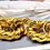 Thumbnail: Gorgeous gold tone chunky chain bracelet