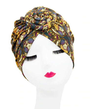 Gorgeous print twist headband