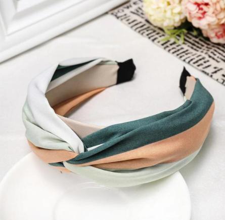 Block colour headband