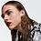 Thumbnail: Gorgeous gold rhinestone earrings