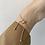 Thumbnail: Cute gold tone coin bracelet