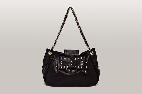 Bow detailed bag
