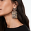 Thumbnail: Gorgeous multi-colored dangle earrings