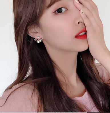 Cute floral earrings