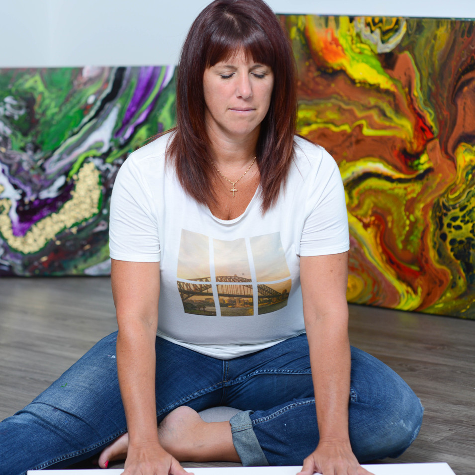 ISA artiste peintre québécoise