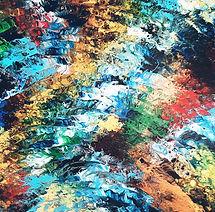 Peinture abstraite contemporain - Isa artiste peintre